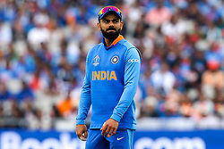 Virat Kohli of India - Mandatory by-line: Robbie Stephenson/JMP - 09/07/2019 - CRICKET - Old Trafford - Manchester, England - India v New Zealand - ICC Cricket World Cup 2019 - Semi Final