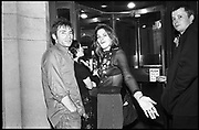 Mat collishaw; Tracey Emin, , Turner prize dinner, Tate gallery. 2 December 1997.<br /> <br /> SUPPLIED FOR ONE-TIME USE ONLY> DO NOT ARCHIVE. © Copyright Photograph by Dafydd Jones 248 Clapham Rd.  London SW90PZ Tel 020 7820 0771 www.dafjones.com