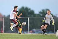 September 21, 2015: The Oklahoma Baptist University Bison play against the Oklahoma Christian University Eagles on the campus of Oklahoma Christian University.
