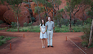 KATE & Prince William Walk Around Uluru