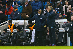 Brighton & Hove Albion manager Chris Hughton talks tactics - Mandatory by-line: Jason Brown/JMP - 11/02/2017 - FOOTBALL - Amex Stadium - Brighton, England - Brighton and Hove Albion v Burton Albion - Sky Bet Championship