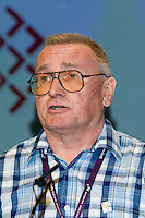Tim Lucas, NUT, speaking at the TUC, Brighton 2007...© Martin Jenkinson, tel 0114 258 6808 mobile 07831 189363 email martin@pressphotos.co.uk. Copyright Designs & Patents Act 1988, moral rights asserted credit required. No part of this photo to be stored, reproduced, manipulated or transmitted to third parties by any means without prior written permission