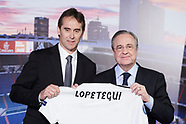 061418 Julen Lopetegui new Real Madrid coach