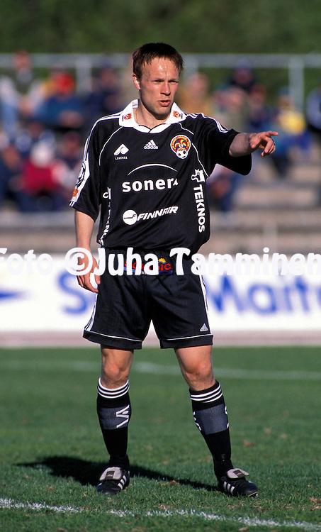 31.05.1999, Pori, Finland. .Ari-Pekka Roiko - FC Jokerit.©JUHA TAMMINEN
