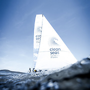 Britain's Dee Caffari will lead 'Turn the Tide on Plastic' in the 2017-18 edition of the Volvo Ocean Race.<br /> <br /> Turn the Tide on Plastic is a mixed, youth focused team with a strong sustainability message, led by Britain's Dee Caffari. The campaign, backed by the principle sustainability partner the Mirpuri Foundation, and Ocean Family Foundation, is dedicated to the issue of ocean health. The campaign is also supported by Sky Ocean Rescue who recently became a media partner to the team to help raise awareness of the issues our oceans face.<br /> <br /> The team's guiding mission is to amplify United Nations Environment's 'Clean Seas: Turn the Tide on Plastic' campaign throughout the eight months of the race.<br /> <br /> Caffari is building a multinational, 50-50 male-female squad, with the majority under 30 years of age. Alongside the sustainability focus, the messages around inclusivity in age and gender will be strong themes of a campaign that in sporting terms may not start as a favourite, but could easily surprise on the water.