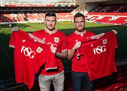 Bristol City loan Signing's , Ben Gladwin and Alex Pearce   - Mandatory byline: Joe Meredith/JMP - 19/01/2016 - FOOTBALL - Ashton Gate - Bristol, England - Bristol City