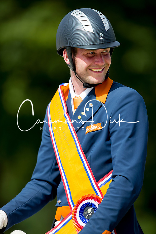 Van Silfhout Diederick, NED, Arlando<br /> Nederlands Kampioenschap Dressuur - Ermelo 2016<br /> © Hippo Foto - Leanjo de Koster<br /> 17/07/16