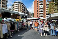 Roma 31 Agosto 2014<br /> Il mercato di Porta Portese in via Ippolito Nievo