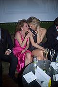 Caroline Gruosi-Scheufele and Eva Herzigova, Weinstein Bafta after-party in association with Chopard. Bungalow 8. London. 10  February 2008.  *** Local Caption *** -DO NOT ARCHIVE-© Copyright Photograph by Dafydd Jones. 248 Clapham Rd. London SW9 0PZ. Tel 0207 820 0771. www.dafjones.com.