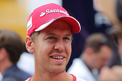 23.07.2015, Hungaroring, Budapest, HUN, FIA, Formel 1, Grand Prix von Ungarn, Vorberichte, im Bild Sebastian Vettel (Scuderia Ferrari) // during the preperation of the Hungarian Formula One Grand Prix at the Hungaroring in Budapest, Hungary on 2015/07/23. EXPA Pictures © 2015, PhotoCredit: EXPA/ Eibner-Pressefoto/ Bermel<br /> <br /> *****ATTENTION - OUT of GER*****