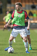 James Henry (Bolton Wanderers) before the EFL Sky Bet League 1 match between Port Vale and Bolton Wanderers at Vale Park, Burslem, England on 22 April 2017. Photo by Mark P Doherty.