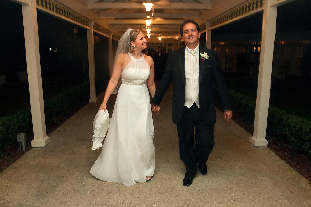 Carole Mailman & Cory Mayback's wedding day, September 5, 2010 Highland Manor, Apopka, Florida....Photographer CHRIS ZUPPA.