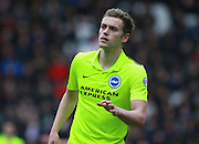 Brighton striker James Wilson during the Sky Bet Championship match between Milton Keynes Dons and Brighton and Hove Albion at stadium:mk, Milton Keynes, England on 19 March 2016. Photo by Bennett Dean.