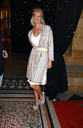 BARONESS STEPHEN BENTINCK, she is actress Lisa Hogan at the opening party for Diamonds - a new exhibition at The Natural History Museum, London in association with De Beers held on 6th July 2005.<br /><br />NON EXCLUSIVE - WORLD RIGHTS