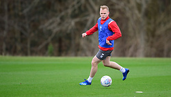 Lincoln City's Anthony Scully during a training session at the BMW Soper of Lincoln Elite Performance Centre, Scampton, Lincolnshire.<br /> <br /> Picture: Chris Vaughan Photography for Lincoln City FC<br /> Date: February 4, 2020