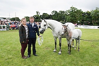 Siblings Eleanor and Patrick Curran from Moycullen  at the 93rd annual Connemara Pony show in Clifden Co. Galway  Photo:Andrew Downes, XPOSURE <br />   Photo: Andrew Downes, Xposure.
