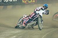 FIM Individual Speedway World Championship Grand Prix. Vikingskipet, Hamar 11.05.2002. Ryan Sullivan (4), Aus.<br /> Foto: Geir Egil Skog, Digitalsport