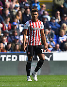 Ollie Watkins (11) of Brentford during the EFL Sky Bet Championship match between Reading and Brentford at the Madejski Stadium, Reading, England on 13 April 2019.