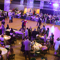 Attendees hit the dance floor before the evenings entertainment began at the Dancing Like the Stars event