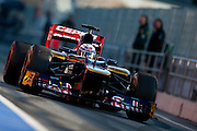 Dianel Ricciardo (AUS) drives the Scuderia Toro Rosso STR7 February 2012: Formula One Testing, Circuit de Catalunya, Barcelona, Spain, World Copyright: Jamey Price