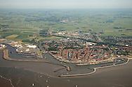 Luchtfoto Harlingen  (stad - haven) - Aerial picture of Harlingen (city - harbour - Port of Harlingen)