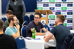 - Ryan Hiscott/JMP - 11/10/2018 - FOOTBALL - Memorial Stadium - Bristol, England - Football Index Q & A Session with Tom Lockyer and Tommy Widdrington