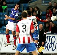 Fotball <br /> Tippeligaen Eliteserien <br /> 06.04.09 <br /> Ullevaal Stadion <br /> Vålerenga VIF - Tromsø TIL<br /> Juan Fuenmayor<br /> Foto - Kasper Wikestad