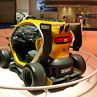 Renault Twizy Sport F1 at the IAA 2013, Frankfurt, Germany