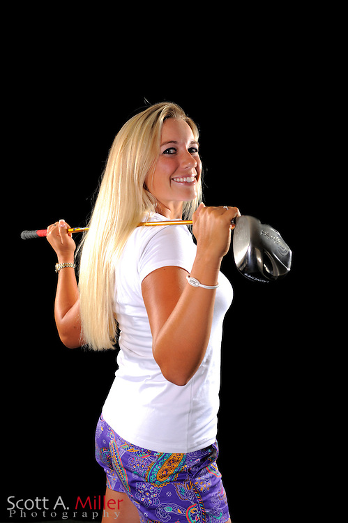Brittany Johnston during a portrait shoot prior to the LPGA Futures Tour's Daytona Beach Invitational at LPGA International's Championship Courser on March 29, 2011 in Daytona Beach, Florida... ©2011 Scott A. Miller