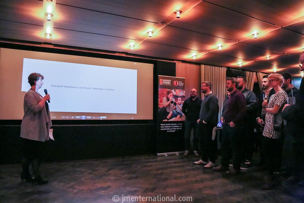 Silver Clef Awards 2015 Launch, The Cafe Royal, Monday 24 March. (photo John Marshall/JM Enternational)