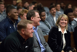 General images during the Auburn Tigers and UCF Knights MLK Center visit, Wednesday, December 27, 2017, in Atlanta. Auburn will face UCF in the Chick-fil-A Peach Bowl on January 1, 2018. (Paul Abell via Abell Images for Chick-fil-A Peach Bowl)