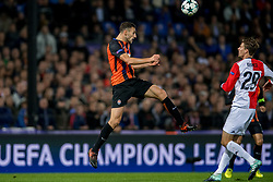 17-10-2017 NED, UEFA CL, Feyenoord - FC Shakhtar Donetsk, Rotterdam<br /> UEFA Champions League Round of 16, 3rd Leg match between Feyenoord vs. Donetsk at the stadion DE Kuip in Rotterdam / Ivan Ordets #18 of Shakhtar Donetsk
