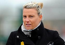 Tanya Oxtoby manager of Bristol City Women- Mandatory by-line: Nizaam Jones/JMP- 31/03/2019 - FOOTBALL - Stoke Gifford Stadium - Bristol, England - Bristol City Women v Reading Women - FA Women's Super League 1