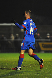 Doncaster Rovers' Richard Wellens celebrates his goal. - Photo mandatory by-line: Dougie Allward/JMP - Mobile: 07966 386802 - 18/11/2014 - SPORT - Football - Weston-super-Mare - Woodspring Stadium - Weston Super Mare v Doncaster Rovers - FA Cup