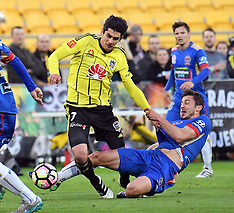 Wellington-Football, A-League, Phoenix v Newcastle Jets