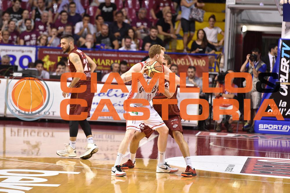 DESCRIZIONE : Venezia Lega A 2014-15 Umana Venezia-Grissin Bon Reggio Emilia  playoff Semifinale gara 5<br /> GIOCATORE :Pini Giovanni<br /> CATEGORIA : Tecnica Controcampo<br /> SQUADRA : GrissinBon Reggio Emilia<br /> EVENTO : LegaBasket Serie A Beko 2014/2015<br /> GARA : Umana Venezia-Grissin Bon Reggio Emilia playoff Semifinale gara 5<br /> DATA : 07/06/2015 <br /> SPORT : Pallacanestro <br /> AUTORE : Agenzia Ciamillo-Castoria /GiulioCiamillo<br /> Galleria : Lega Basket A 2014-2015 Fotonotizia : Reggio Emilia Lega A 2014-15 Umana Venezia-Grissin Bon Reggio Emilia playoff Semifinale gara 5<br /> Predefinita :