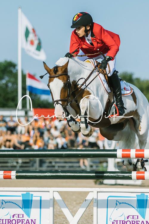 Philippaerts Thibault, (BEL), Okehurst Little Bow Wow<br /> Pony European Championships Malmö 2015<br /> © Hippo Foto - Lotta Gyllensten