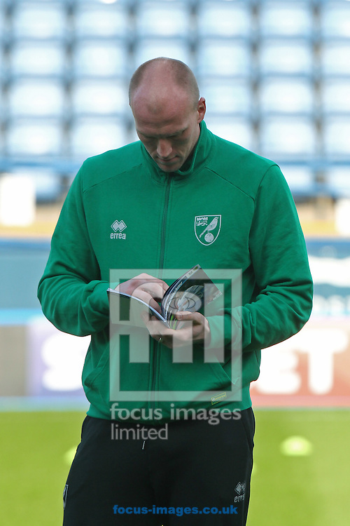 John Ruddy of Norwich before the Sky Bet Championship match at Hillsborough, Sheffield<br /> Picture by Paul Chesterton/Focus Images Ltd +44 7904 640267<br /> 04/03/2017