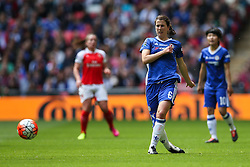 Niamh Fahey of Chelsea Ladies in action - Mandatory byline: Jason Brown/JMP - 14/05/2016 - FOOTBALL - Wembley Stadium - London, England - Arsenal Ladies v Chelsea Ladies - SSE Women's FA Cup