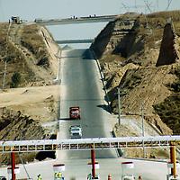 Almoloya de Juárez, Mex.- Aspectos de las obras de construcción de la autopista Toluca - Zitácuaro. Agencia MVT / José Hernández. (DIGITAL)<br /> <br /> NO ARCHIVAR - NO ARCHIVE