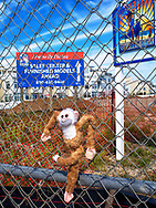 Found waiting for new residents at Arverne By The Sea in the Rockaways, New York City.