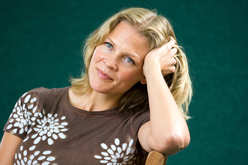 EDINBURGH, SCOTLAND - AUGUST17. Norwegian reporter and author Asne Seierstad poses during a portrait session held at Edinburgh Book Festival on August 17, 2006  in Edinburgh, Scotland. (Photo by Marco Secchi/Getty Images).