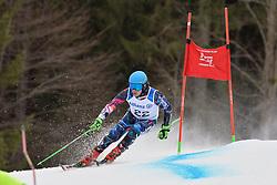 REDKOZUBOV Valerii Guide: GEROEV Evgeny, B2, NPA at 2018 World Para Alpine Skiing Cup, Kranjska Gora, Slovenia