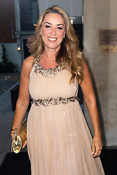 Claire Sweeny arrives at the Daily Mail Health Heroes Awards at the Marriot Grosvenor Square in Mayfair, London. London, September 10 2018.