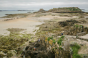 Petit Bé is a tidal island near the city of Saint-Malo, France, close to the larger island of Grand Bé. At low tide one can walk to the island from the nearby Bon-Secours beach. The fort was built in 1667 by the French government and construction began in 1689. The fort was part of the defenses that Vauban designed to protect Saint-Malo from British and Dutch fleets. It became a Monument historique in 1921, but was neglected until 2000, when the city gave it to a non-profit organization rent-free to renovate it and prepare it for tourism. Under the direction of Alain-Etienne Marcel, the fort has since been restored and is open to visitors.