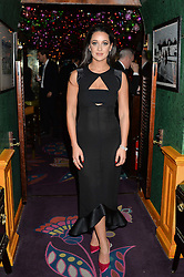 ROXIE NAFOUSI at a dinner hosted by Charlotte Tilbury at Annabel's, 44 Berkeley Square, London on 23rd November 2016