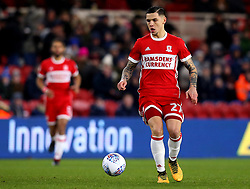 Muhamed Besic of Middlesbrough - Mandatory by-line: Robbie Stephenson/JMP - 02/03/2018 - FOOTBALL - Riverside Stadium - Middlesbrough, England - Middlesbrough v Leeds United - Sky Bet Championship