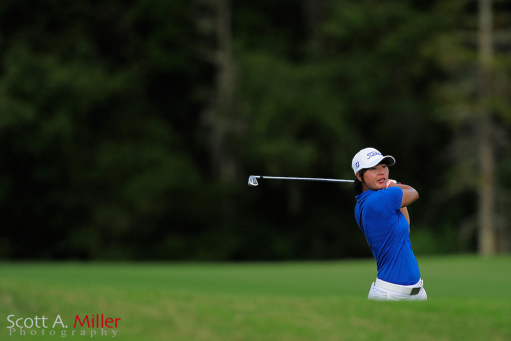 Andy Jun in action during the final round of the Daytona Beach Invitational  at LPGA International on Sep 29, 2012 in Daytona Beach, Florida...©2012 Scott A. Miller