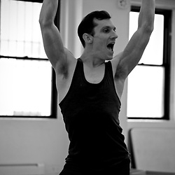 Joseph Simons Emma and Enrico rehearsal and development 100 years #historyofdance #onemanshow