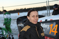 14.02.2015, Karlstad, Karlstad, SWE, FIA, WRC, Schweden Rallye, im Bild Ilka Minor (Henning Solberg/Ford Fiesta RS WRC) // during the WRC Sweden Rallye at the Karlstad in Karlstad, Sweden on 2015/02/14. EXPA Pictures © 2015, PhotoCredit: EXPA/ Eibner-Pressefoto/ Bermel<br /> <br /> *****ATTENTION - OUT of GER*****